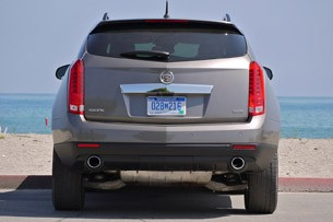 2012 Cadillac SRX rear view
