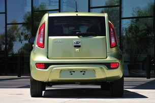 2012 Kia Soul rear view