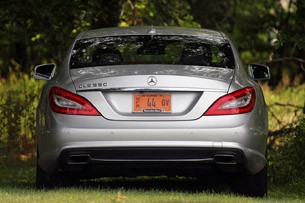 2012 Mercedes-Benz CLS550 rear view
