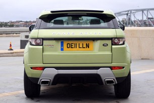 2012 Range Rover Evoque rear view