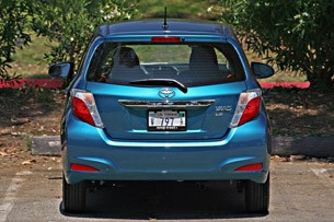 2012 Toyota Yaris rear view