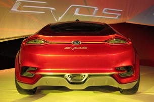 Ford Evos Concept rear view