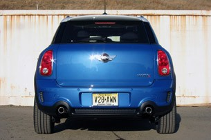 2011 Mini Cooper S Countryman All4 rear view