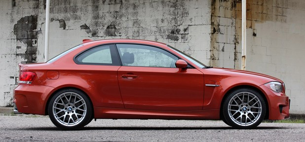 2011 BMW 1 Series M Coupe side view