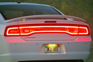 2011 Dodge Charger Rallye V6 taillights