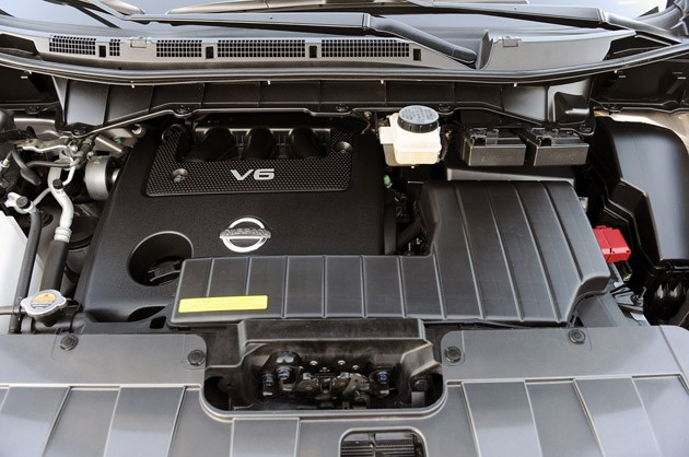2011 Nissan Quest engine