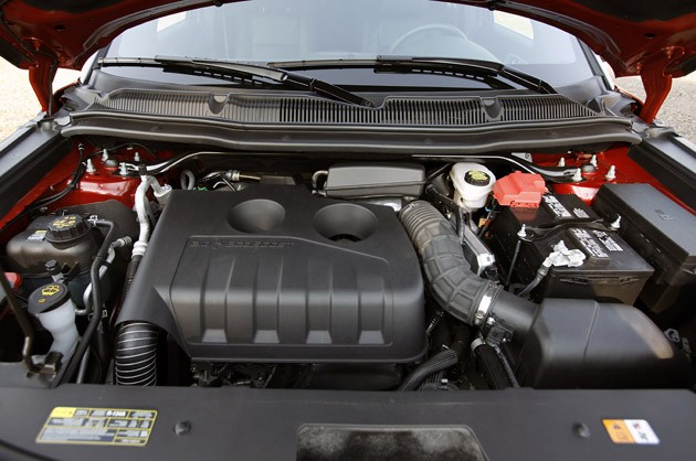 2012 Ford Explorer EcoBoost engine