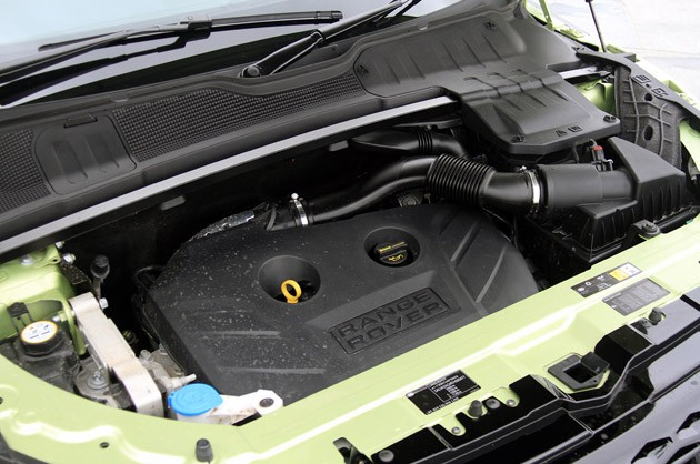 2012 Range Rover Evoque engine