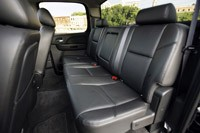 2011 GMC Sierra Denali rear seats