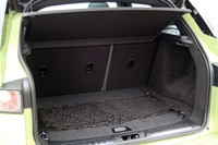 2012 Range Rover Evoque rear cargo area
