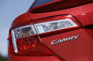 2012 Toyota Camry taillights