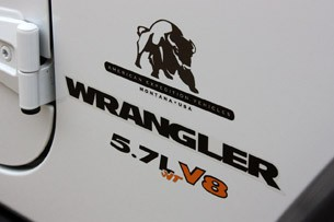 2011 AEV Jeep Wrangler Hemi graphics