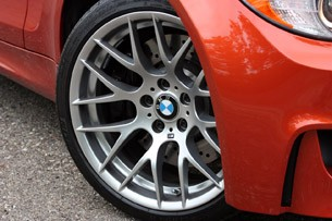 2011 BMW 1 Series M Coupe wheel