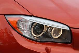 2011 BMW 1 Series M Coupe headlight
