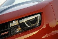 2011 Chevrolet Camaro SS Convertible headlight