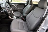2011 Hyundai Elantra Limited front seats