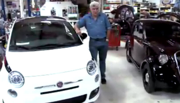 fiat 500 prima edizione at jay lenos garage