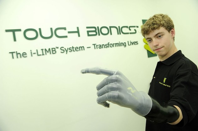 Matthew James Touch Bionics i-LIMP Pulse