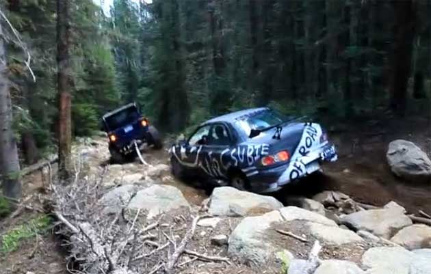 Off Road Subaru