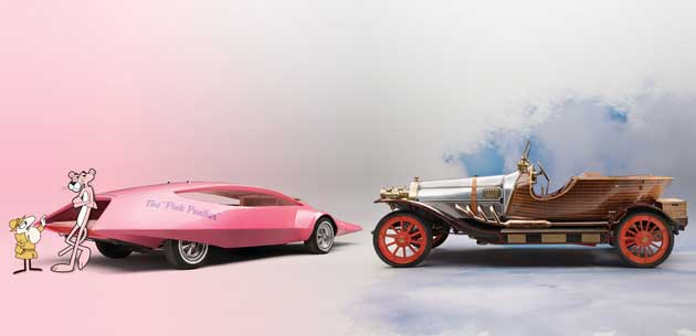 Panthermobile and Chitty Chitty Bang Bang