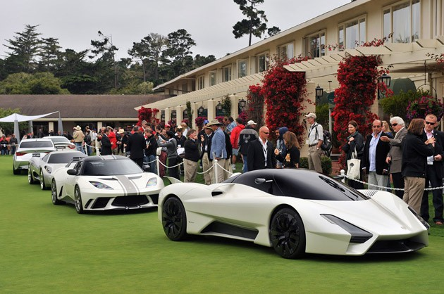 2011 Pebble Beach Concept Car Lawn