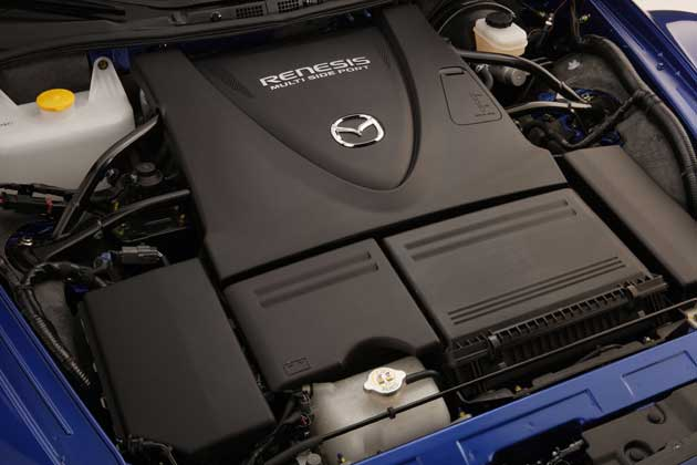 Mazda RX-8 engine bay