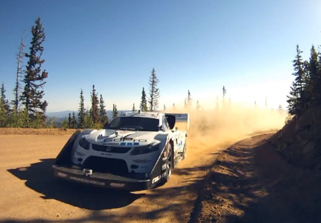 monster tajima suzuki sx4 hill climb special pikes peak run