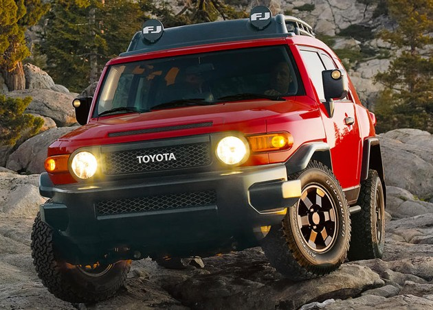 2012 Toyota FJ Cruiser Trail Teams Special Edition
