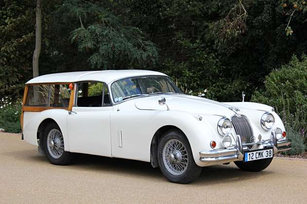 Classic Jaguar Xk150 Gets Minor Adjustments Goes To The Dogs