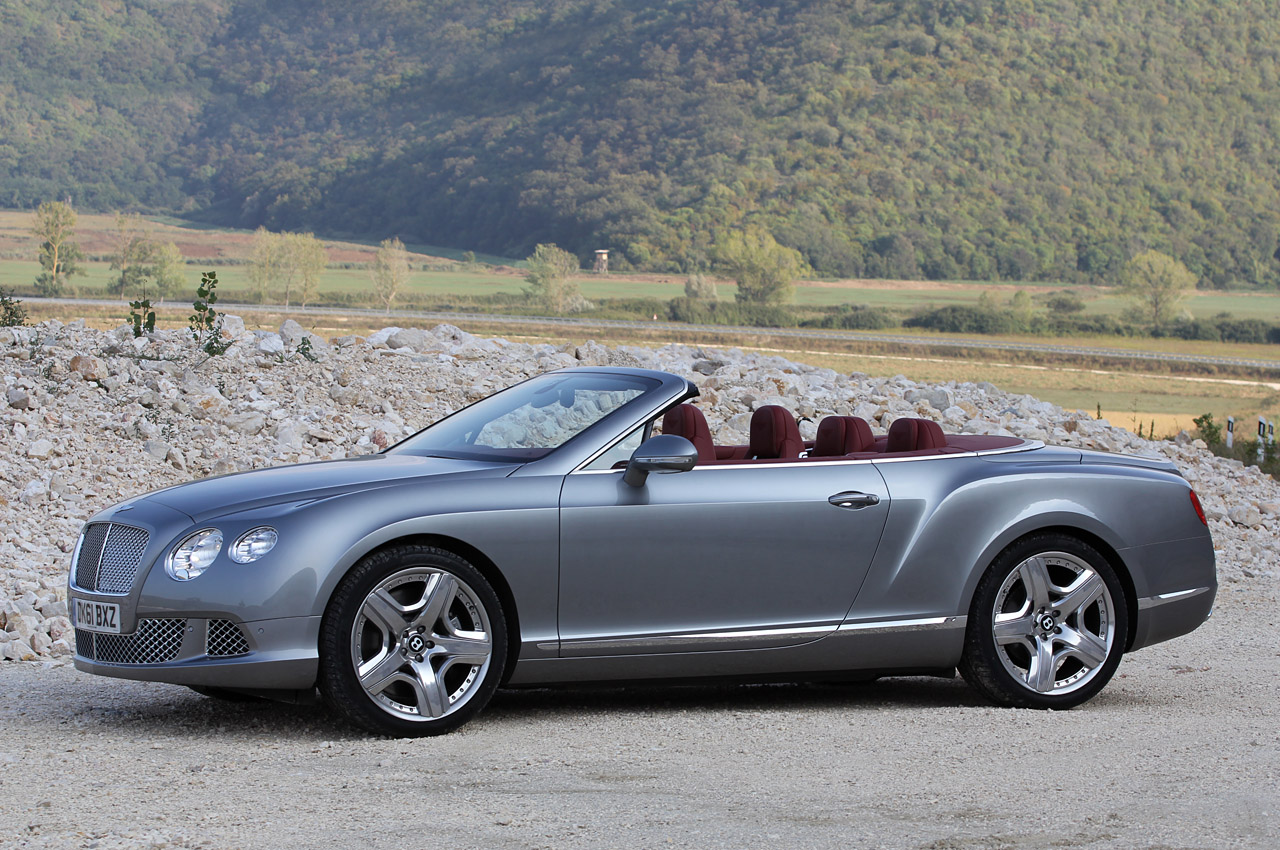 2012 Bentley Continental Gtc First Drive W Video Autoblog