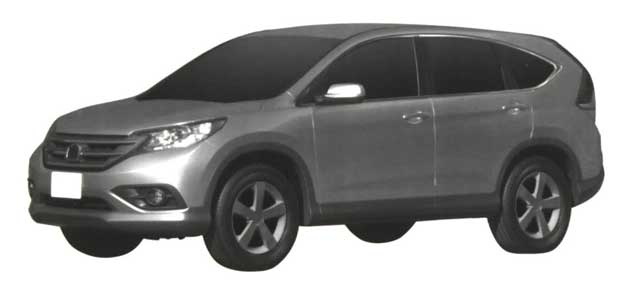2012 Honda CR-V Patent Drawings