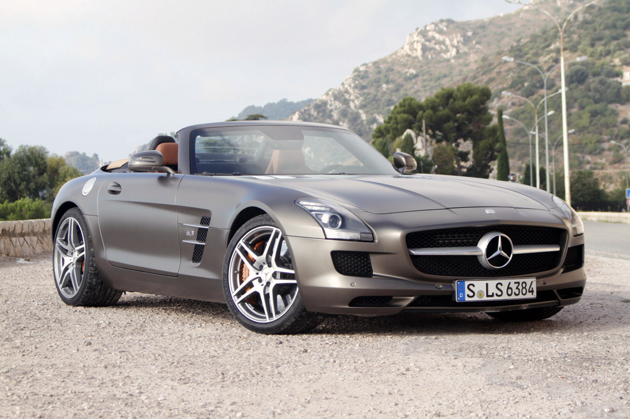 2012 mercedes benz sls amg roadster first drive photo