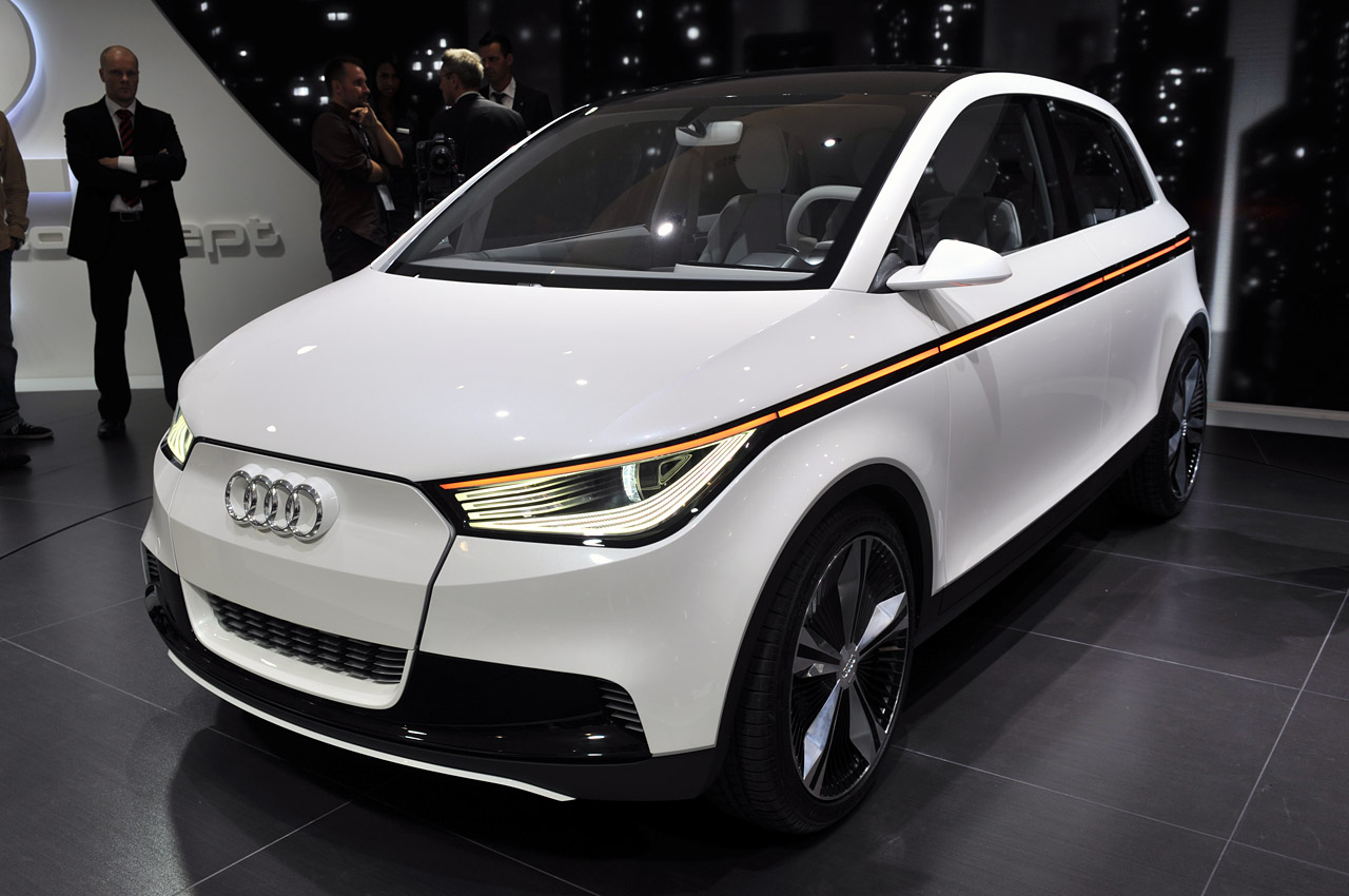 audi a2 concept is an utterly fantastical electric car with lasers autoblog. Black Bedroom Furniture Sets. Home Design Ideas