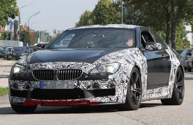BMW M6 spy shots