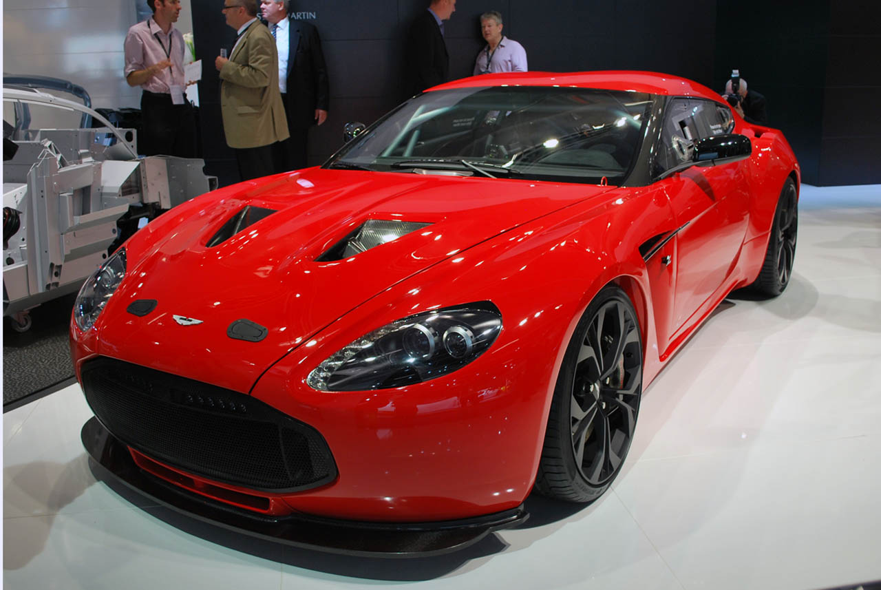 Aston Martin V12 Zagato Is Modern Mobile Art Autoblog