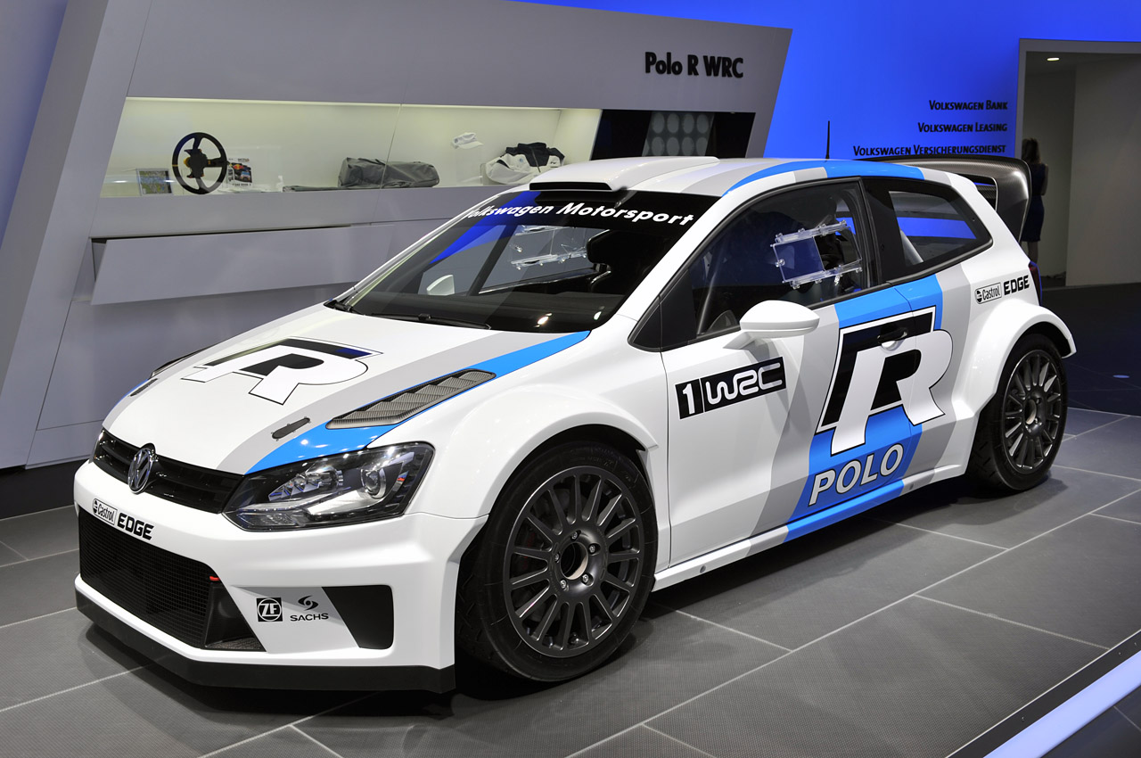 volkswagen polo r wrc looks ready to tackle the tarmac autoblog. Black Bedroom Furniture Sets. Home Design Ideas