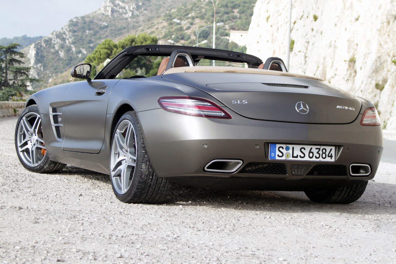 2012 mercedes benz sls amg roadster w videos autoblog for Mercedes benz sls amg convertible for sale