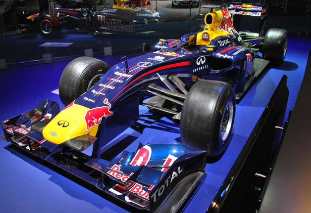 Red Bull F1 show car
