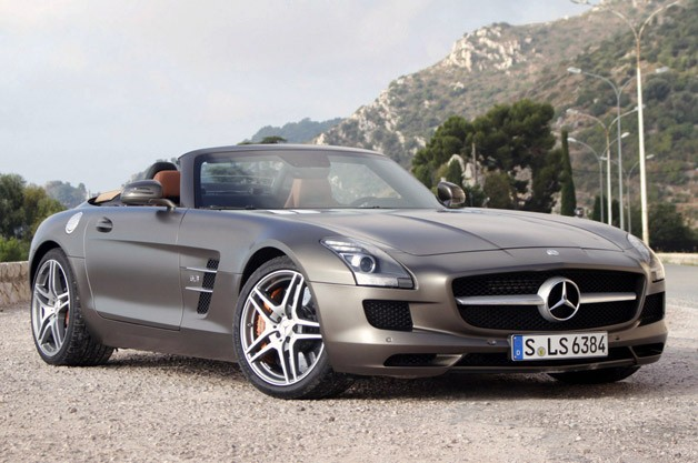 2012 mercedes benz sls amg roadster w videos. Black Bedroom Furniture Sets. Home Design Ideas