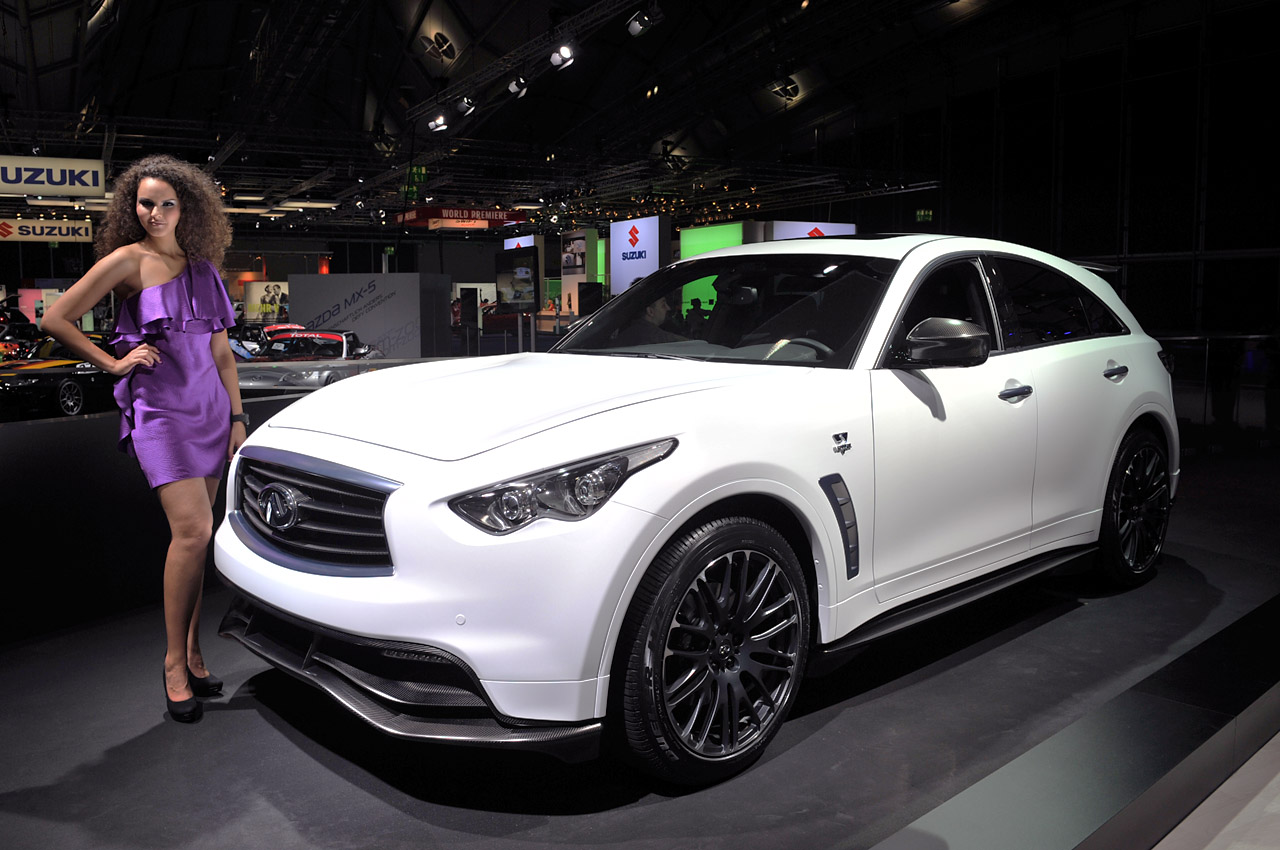 infiniti fx sebastian vettel version approved for production may result in amg like tuning arm. Black Bedroom Furniture Sets. Home Design Ideas