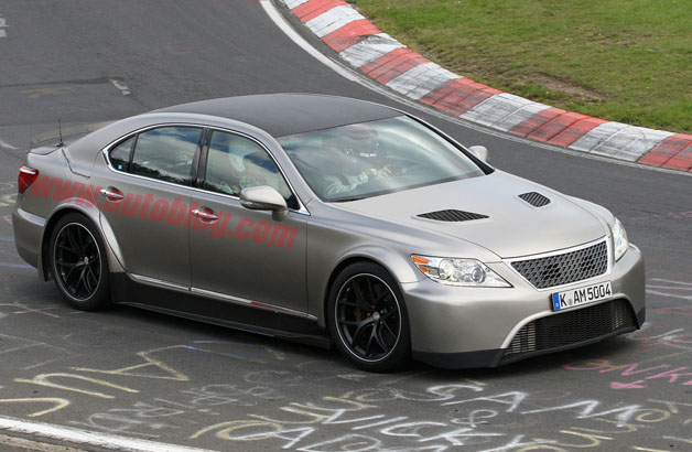 spy shot lexus ls f
