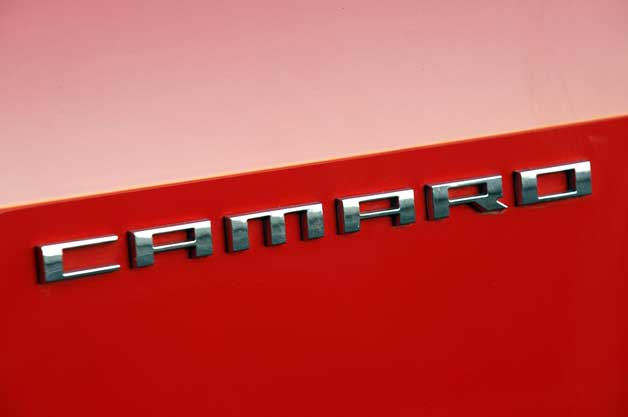 Chevrolet Camaro Badge 628