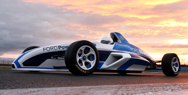 Slick 2012 Formula Ford racer to debut in Frankfurt