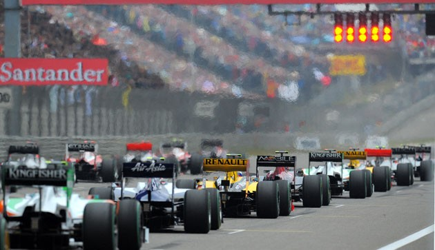 grand prix starting grid