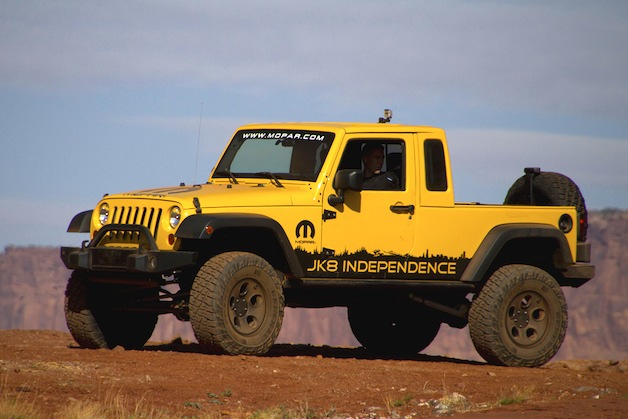 Jeep JK-8 pickup