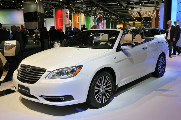 chrysler 200 convertible gets lancia fied as the flavia cabrio. Black Bedroom Furniture Sets. Home Design Ideas