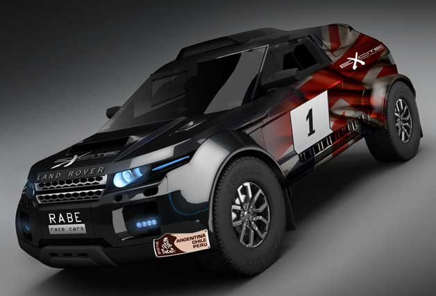 Land Rover Evoque Dakar