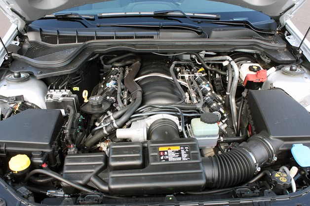 2012 Chevrolet Caprice PPV engine