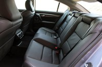 2012 Acura TL SH-AWD rear seats