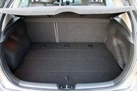 2011 Kia Forte 5-Door rear cargo area
